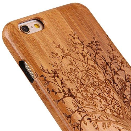 custodia iphone 6 legno chiusa