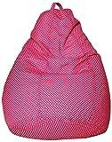 #10: Sattva Polka Party XXXL Bean Bag without Beans (Pink Polka)