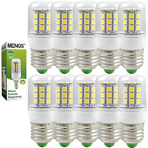 10X MENGS® E27 LED Lampe 5W 7W 9W AC 220-240V Warmweiß 3000K SMD
