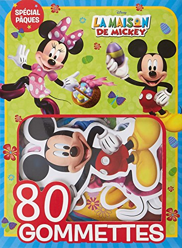 MICKEY - 80 gommettes - Spcial Pques