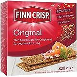 Finn Slims Récolte Nettes De Seigle Pain Croustillant 200G - Paquet de 6