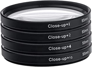 Spe 55Mm Close Up Lens Filter Kit For Sony 18-55Mm 55-250Mm Alpha Dslr Digital Camera