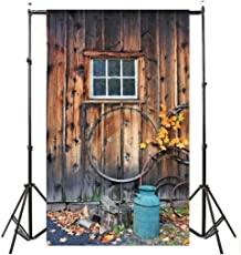 Indeals Photography Background 2018 Hotsale Vinyl Wood Wall Floor Photography Studio Prop Backdrop Background 3x5FT (E)