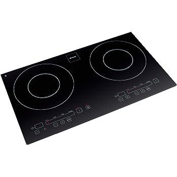 Brandt TI 342 Table Induction Deux Foyers 2000 W Noir