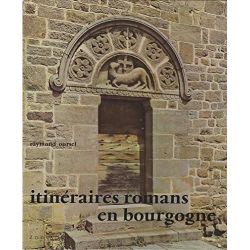 Itinéraires romans en Bourgogne (Collection Les Travaux des mois)
