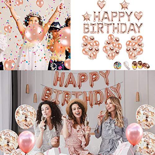Mitlfuny -> Haus & Garten -> Küche , Dining & BarDIY Geburtstag Dekoration Alles Gute zum Geburtstag Girlande Buchstaben Folienballon Rose Gold