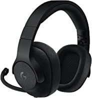 Logitech G433 Cuffia con Microfono rimovibile per Giochi Cablata, Audio Surround 7.1, per Pc, Xbox One, PS4, Switch, Disposit