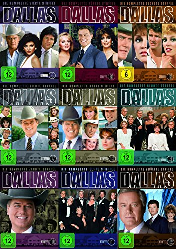 DALLAS - Die komplette TV-Serie STAFFEL 1 - 14 Edition 1978 - 1991 * mit 73 DVDs COLLECTION (Serie Dvds Tv)