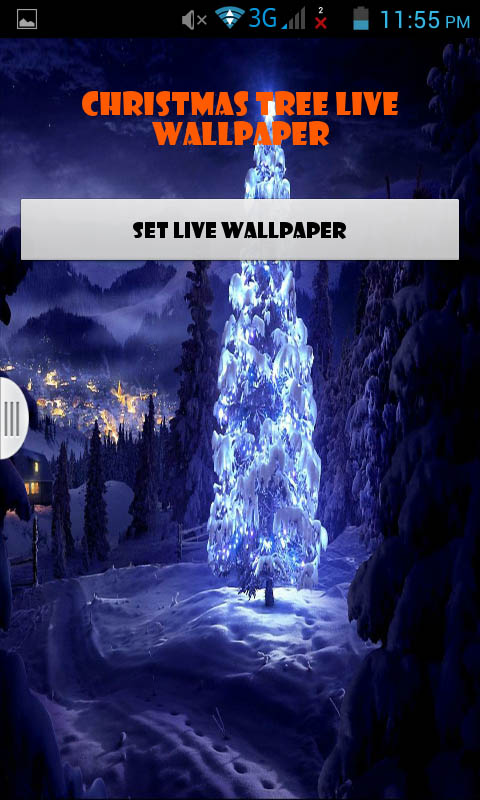 Christmas Tree Live Wallpaper Best Amazonde Apps Für Android