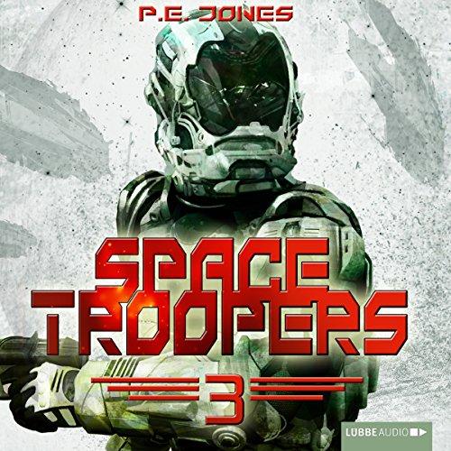 Buchseite und Rezensionen zu 'Die Brut (Space Troopers 3)' von P. E. Jones