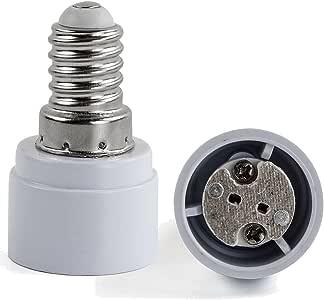 AWE-LIGHT 6x E27/ E14 a MR16 GU5.3 G4 GU4 MR11 della lampada LED Base adattatore lampadina convertitore (E14-G4/GU4/MR16/GU5.3)