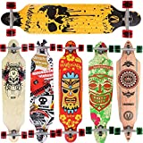 [Maronad.GCP]® Longboard Skateboard drop through Race Cruiser ABEC-11 Skateboard 104x24cm Streetsurfer skaten...