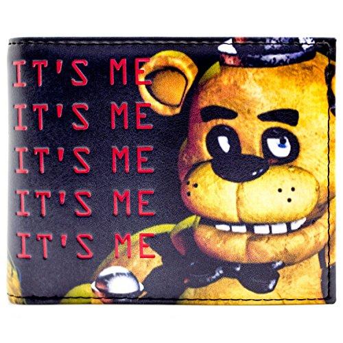 Freddy Fazbear Es ist mir Scary Hallucinations Schwarz Portemonnaie Geldbörse