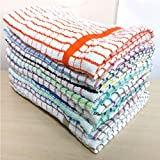 Best Kitchen Towels - Pack Of 10 Assorted Large Multi Terry Cotton Review