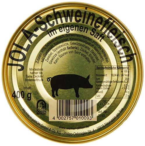 Jola Schweinefleisch, 12er Pack (12 x 400 g)