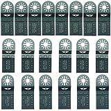 20 x TopsTools UNKC20 mezcla omóplatos para Bosch, Fein Multimaster, Multitalent, Makita,