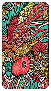 Timpax Hard Back Case Cover Printed Design : A colourful abstract design.Specifically Design For : Apple iPhone-6-PLUS