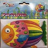 8 Einladungskarten * FISCH * für Kindergeburtstag und Motto-Party // Einladungen Seepferdchen Wasser Konfirmation bunt Regenbogenfisch Seestern Meer Strand Mädchen Jungen Kindergarten