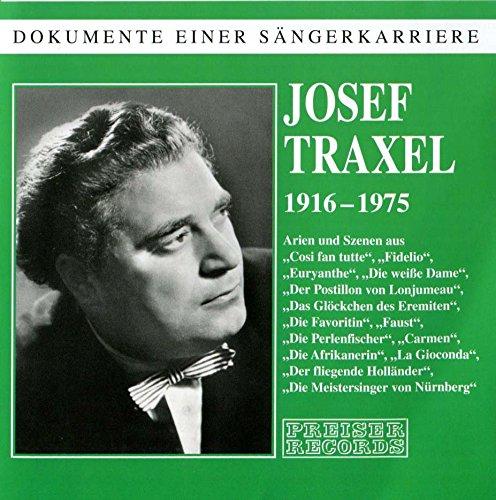 Mozart/Wagner/Weber : Arien. Traxel.