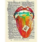 Wee Blue Coo LTD Tripper Acid LSD Dictionary Page Art Print