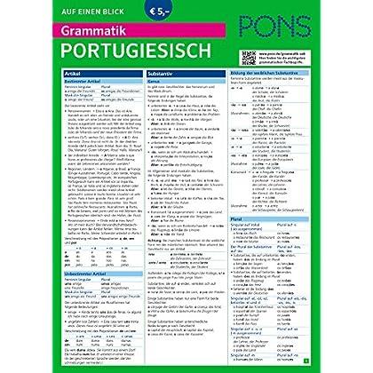 Pons Grammatik Auf Einen Blick Deutsch Pdf