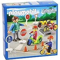 Playmobil Guardería - Niños con seguridad vial, playset (5571)
