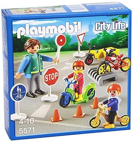 Signalisation Enfants - Playmobil - 5571 - Figurine Transport Et