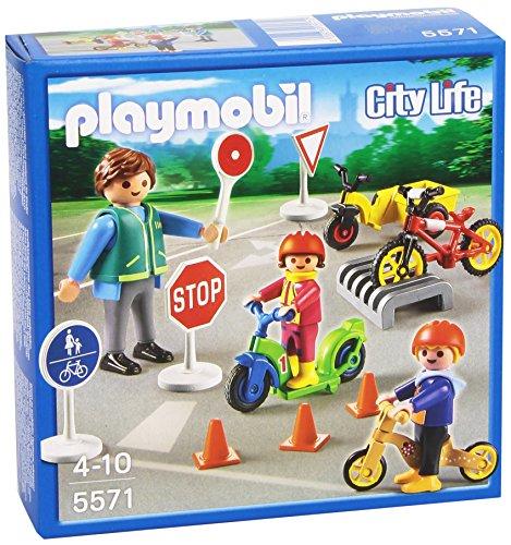 Playmobil Guardería - Niños con Seguridad Vial,...