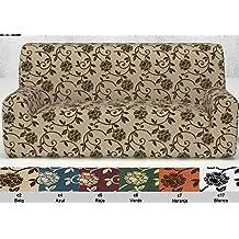 Funda para sofá Acapulco elastica de 1 plazas (70 a 100 cm) color Malva