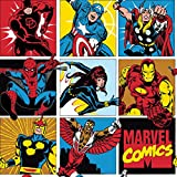 Marvel Flanell Stoff-0,5Meterware-Superhero