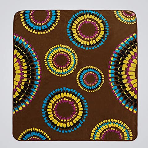 San Carlos Tempo–Decke aus Samt, Braun cama matrimonio 135 x 150 cm braun