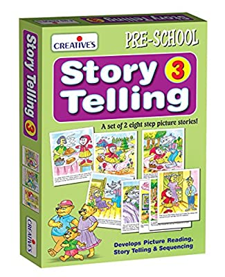 Creative Pre-School - Story Telling Step-by-Step-3 (8 Steps) - (CRE0903)