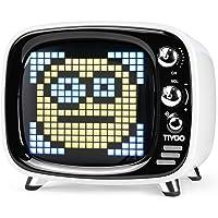 Divoom Tivoo - Altoparlante Bluetooth classico retrò con audio da 6 W, schermo LED programmabile controllato da app…