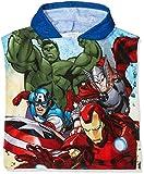 Avengers Jungen Thermounterwäsche-Oberteil Assemblee, Blau (Blue 2), One Size