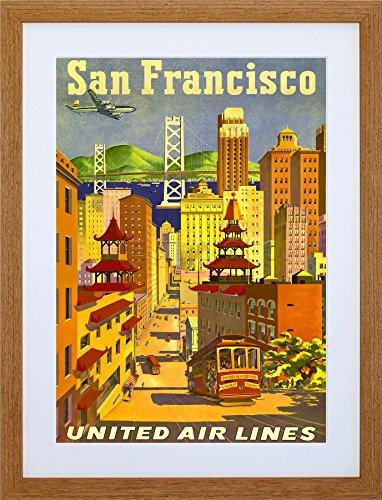 san-francisco-california-united-airline-golden-gate-art-print-frame-wooden-framed-picture-d-f12x1310