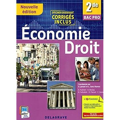 Economie Droit 2de Bac Pro (2015) - Pochette élève - VERSION ENSEIGNANT AVEC CORRIGÉS
