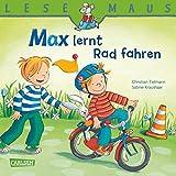 LESEMAUS: Max lernt Rad fahren