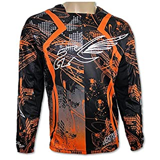 ATROX Motocross Jersey MX Shirt Trikot Orange