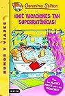 Stilton 24: ¡Qué vacaciones tan superratónicas!: Geronimo Stilton 24 ¡Con los mejores juegos para tus vacaciones!: 1 par Stilton