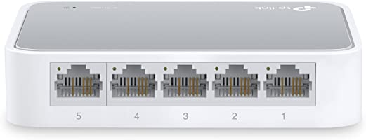 TP-LINK TL-SF1005D V14 5-Ports 10/100 Mbps Desktop Ethernet Switch