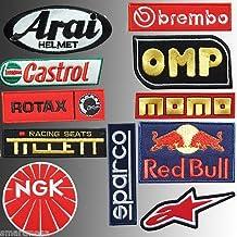 Kart Karting, 11 Carreras traje deporte total bordados parches - mejor precio