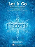Demi Lovato: Let It Go (From Frozen) PVG Sheet. Für Klavier, Gesang & Gitarre