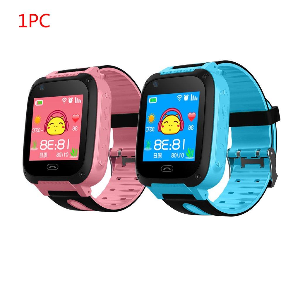 Impermeabile touch screen GPS Tracker Smart Phone orologio con contapassi