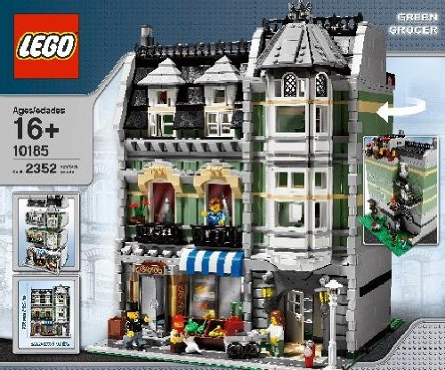 Lego Creator Green Glocer 10185 (japan import)