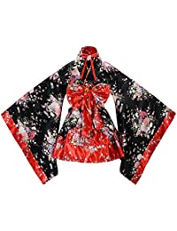 tzm2016 - Disfraz de Cerezo japonés, diseño de Flores, Kimono, Anime Cosplay,