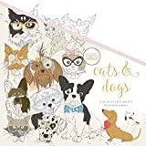Kaisercraft Malbuch Cats & Dogs, Paper, Multicolour, 25 x 25 x 0.6 cm