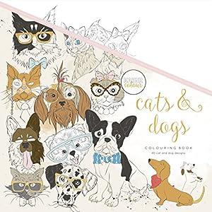 Kaisercraft - Libro para colorear Cats & Dogs (CL539)