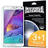 Best Spigen Galaxy Note 4 Screen Protectors - Galaxy Note 4 Screen Protector - Invisible Defender Review