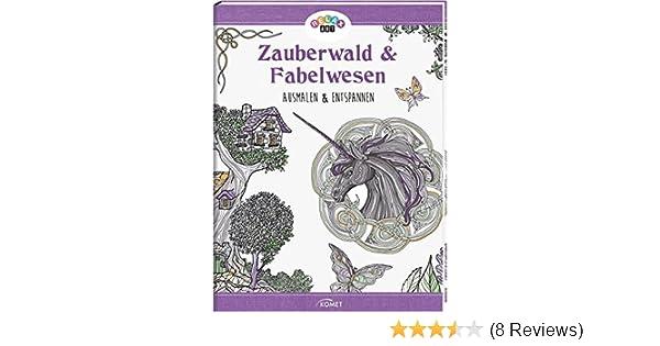 Niedlich Farbige Seiten Aus Zauberwald Bilder ...