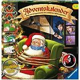 Ravensburger 18896 - ScienceX Adventskalender - Rette mit 24 Experimenten den entführten Weihnachtsmann